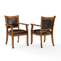 CF510318-DC Game Chairs with Casters (Set of 2) - Reynolds