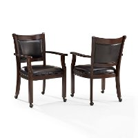 CF510318-RM Game Chairs with Casters (Set of 2) - Reynolds