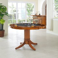 KF14003-DC Game Table with Pedestal Base - Reynolds
