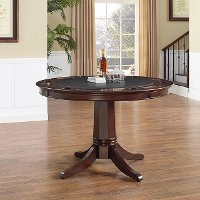 KF14003-RM Game Table with Pedestal Base - Reynolds