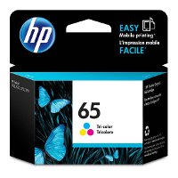 N9K01AN#140 HP 65 Tri-Color Ink Cartridge