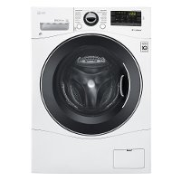 WM1388HW LG 2.3 cu. ft. High-Efficiency Front Load Washer - White