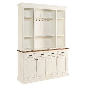 clearance white bakers pantry magnolia home furniture colleciton