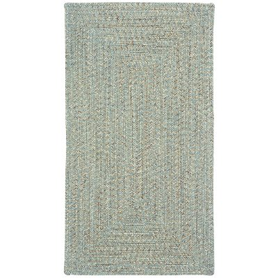XX-Small Spa Green Braided Indoor-Outdoor Rug - Sea Glass | RC ...
