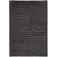 4 x 6 Small Charcoal Gray Area Rug - Gravity