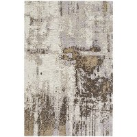 8 x 10 Large Natural Area Rug - Cosmic-Abstract
