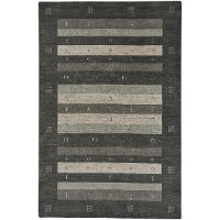 3 x 5 Small Granite Gray Area Rug - Simply Gabbeh
