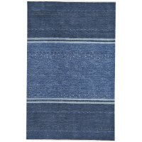 3 x 5 Small Taos Blue Area Rug - Simply Gabbeh