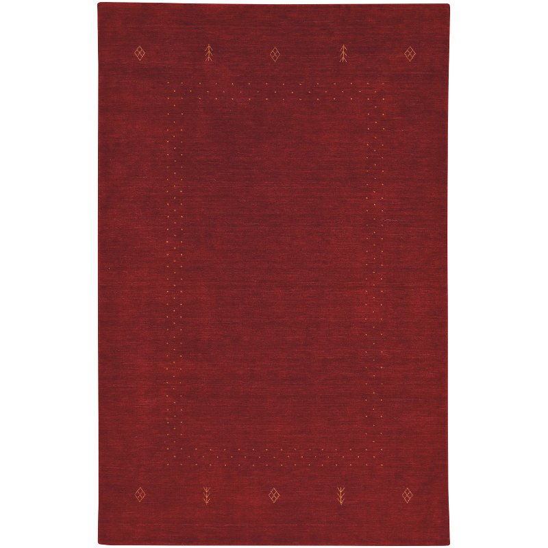 8 X 10 Large Red Clay Area Rug Simply Gabbeh