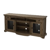 75 Inch Gray Brown TV Stand - Trayer
