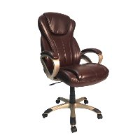 Oversized Brown Executive Chair