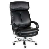 Big and Tall Black Executive Chair