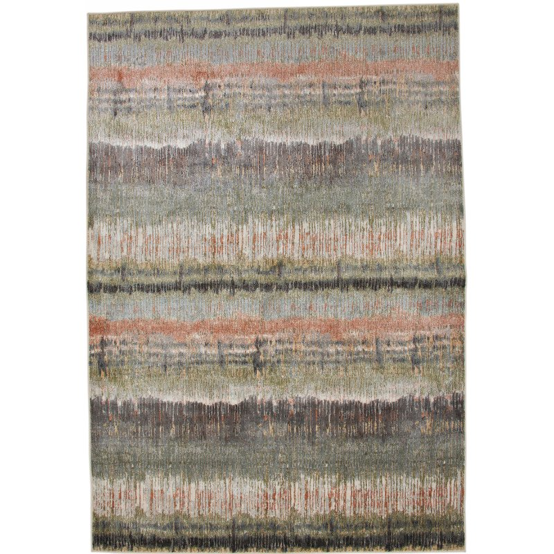 5 X 8 Medium C Green And Gray Area Rug Sonoma