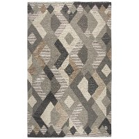 5 x 8 Medium Brown Area Rug - Idyllic