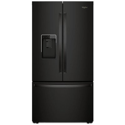 Whirlpool 36 Inch French Door Refrigerator Counter Depth Black