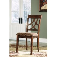 Traditional Upholstered Side Chair  Pair - Leahlyn