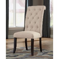Set of 2 Upholstered Side Chairs - Tripton