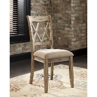 Set of 2 Casual Dining Chairs - Mestler