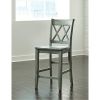 Casual Counter Height Stool (Set of 2) - Mestler