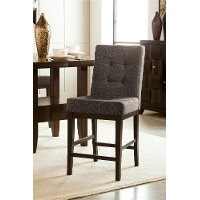 D582SDB Upholstered Counter Stool (Set of 2) - Chanella