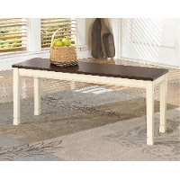D583-00 Casual Large Dining Room Bench