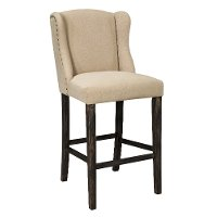 D608SDH Casual Upholstered Barstools (Set of 2) - Moriann