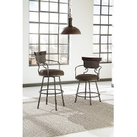 D608-624 Casual Upholstered Counter Stool - Moriann