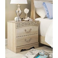 Two Drawer Night Stand - Catalina
