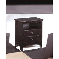B208-92 One Drawer Night Stand - Harmony