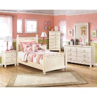 B213-92 Two Drawer Night Stand
