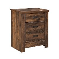 Two Drawer Night Stand - Quinden