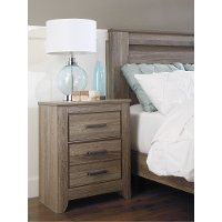 B248-92 Two Drawer Night Stand - Zelen