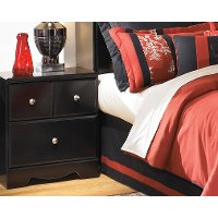 Two Drawer Night Stand - Shay