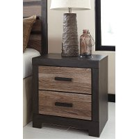 Two Drawer Night Stand - Harlinton
