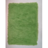 3 x 5 Small Lime Green Shag Rug - Flokati
