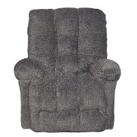 Smoke Gray Power Rocker Recliner - Everlasting