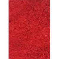 3 x 5 Small Red Shag Rug - Fun Shags