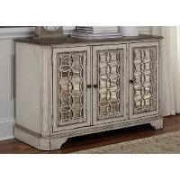 Antique White Sofa Console - Magnolia Manor