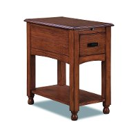8710-028 Medium Brown Side Table -Kenilworth