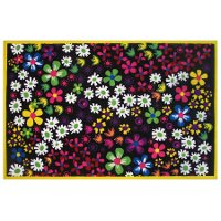 3 x 5 Small Floral Area Rug - Fun Time
