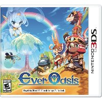 3DS CTR P BAGE Ever Oasis - Nintendo 3DS