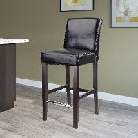 Contemporary Black Barstool