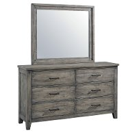 Rustic Casual Gray Dresser - Nelson