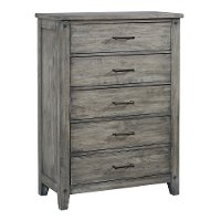 Rustic Casual Gray Chest of Drawers - Nelson