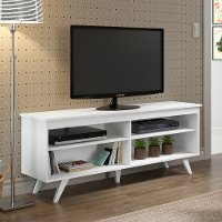 White TV Stand (58 Inch)