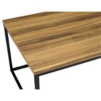 Teak Wood Top Coffee Table (42 Inch) - Jana