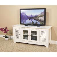 White TV Stand (53 Inch)