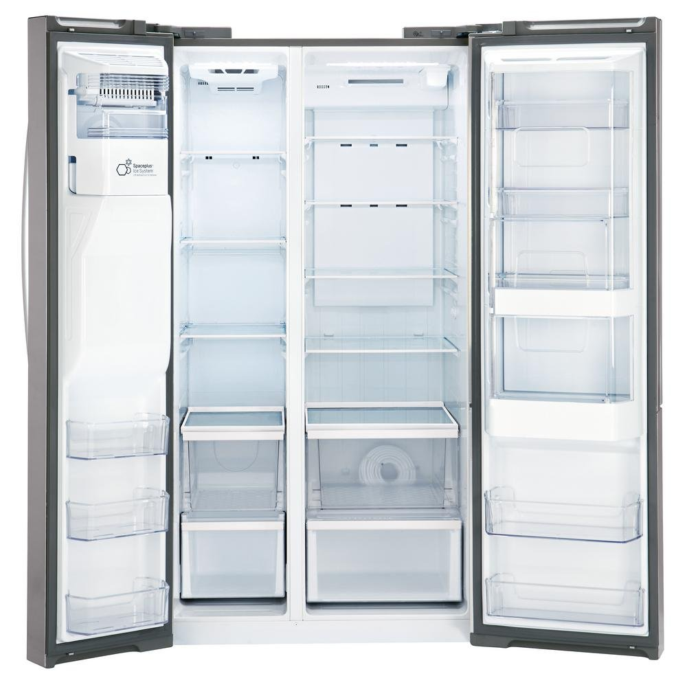 LG Side-by-Side Refrigerator - 36 Inch Stainless Steel Counter depth ...