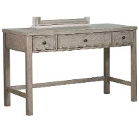 Classic Weathered Gray Vanity Desk - Heather