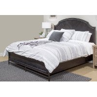 Classic Midnight Brown Queen Size Bed - Grafton Ave.